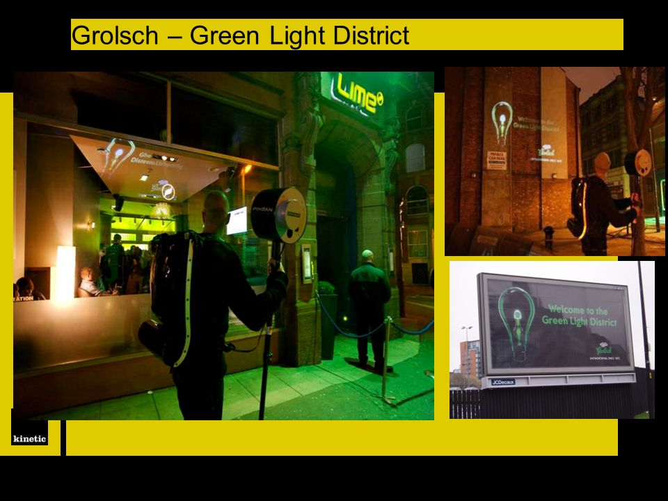 Grolsch – Green Light District