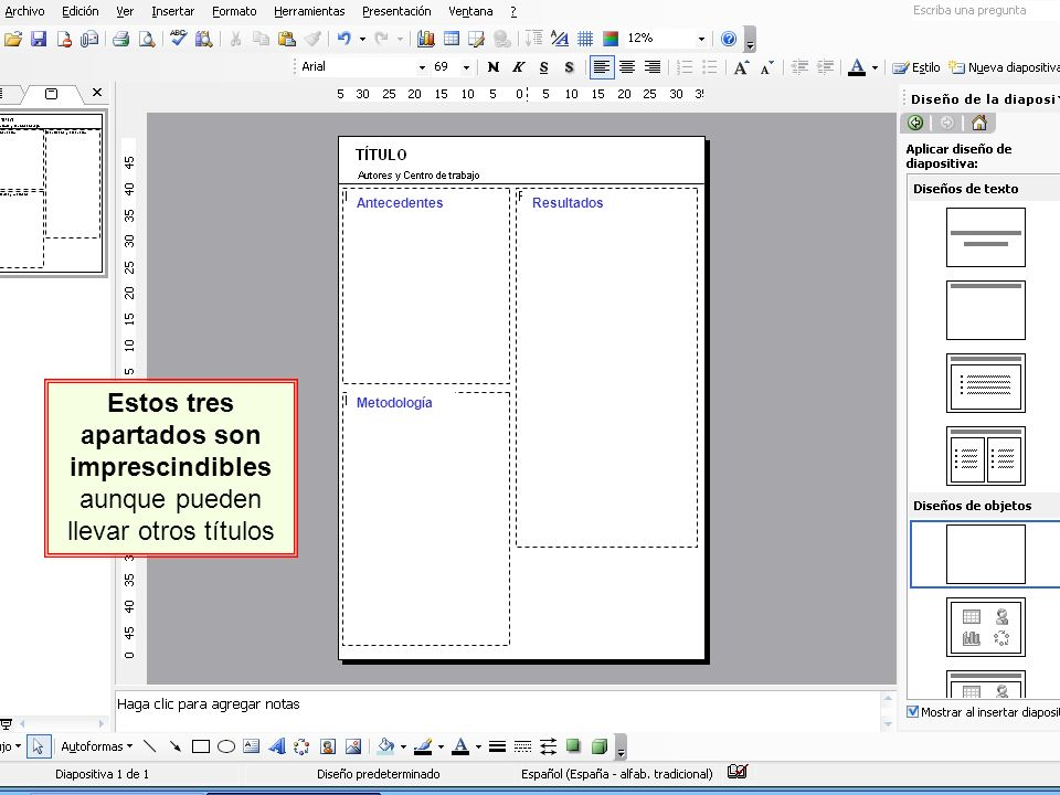 Preparo mi póster con PowerPoint - ppt video online descargar