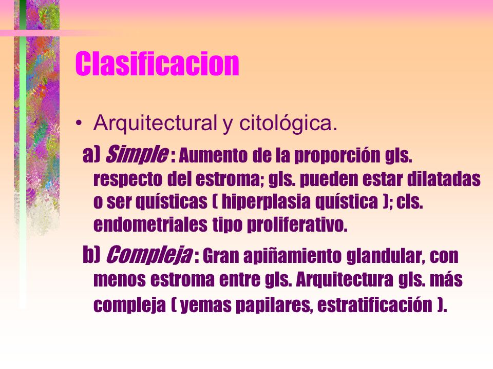 como se cura la hiperplasia endometrial simple