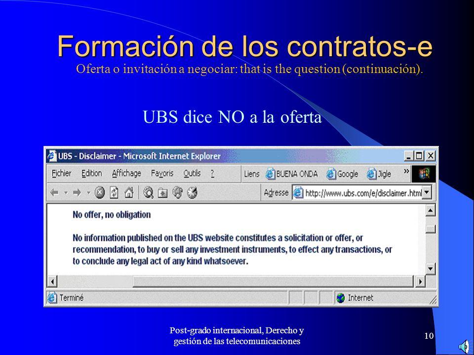 La contratación electrónica Conferencia en línea - ppt descargar