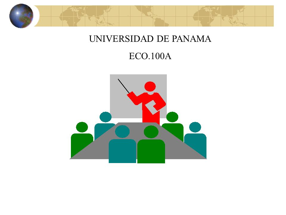 UNIVERSIDAD DE PANAMA ECO.100A