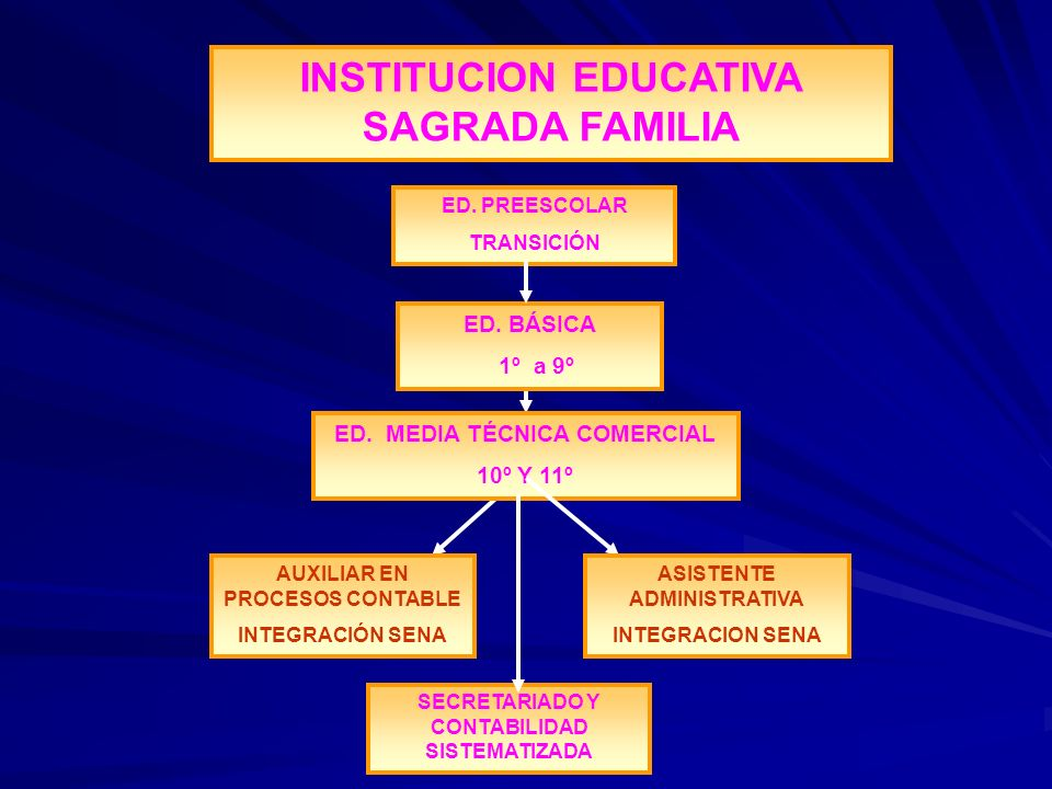 INSTITUCION EDUCATIVA SAGRADA FAMILIA
