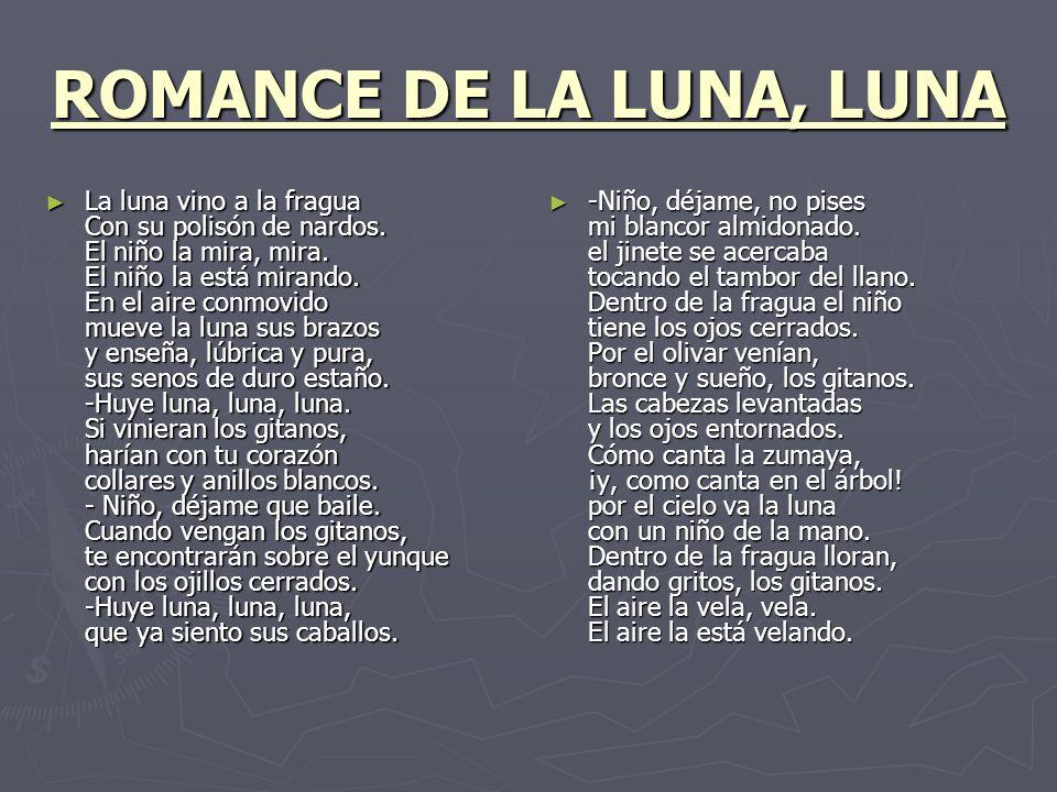 Romance De La Luna Luna Federico García Lorca Ppt Video Online Descargar