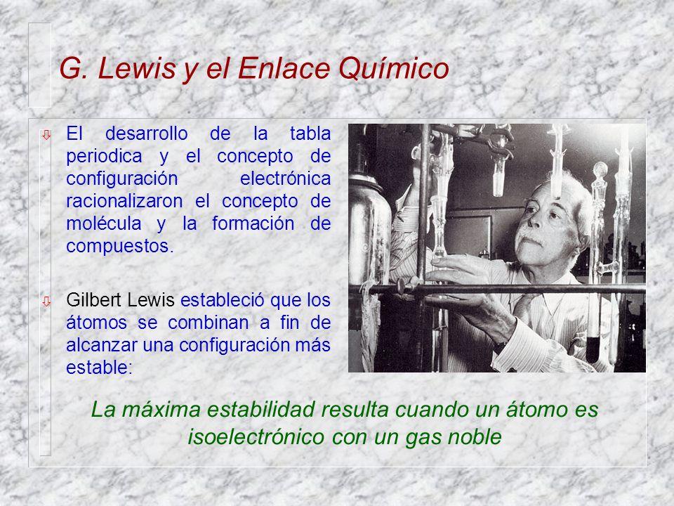 G lewis y el enlace qumico ppt descargar g lewis y el enlace qumico urtaz Choice Image
