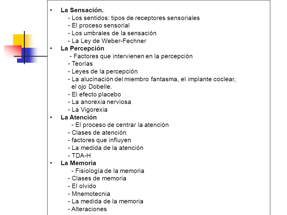 Umbrales de la percepcion pdf