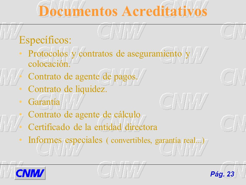 Documentos Acreditativos