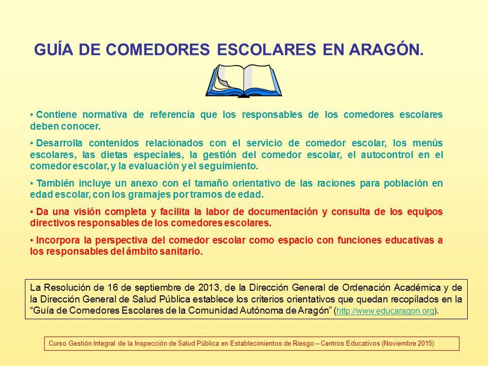 CENTROS EDUCATIVOS – SERVICIO COMPLEMENTARIO DE COMEDOR ESCOLAR ...