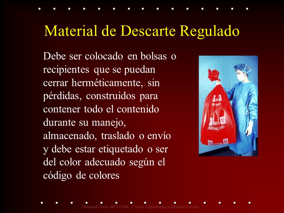 Material de Descarte Regulado