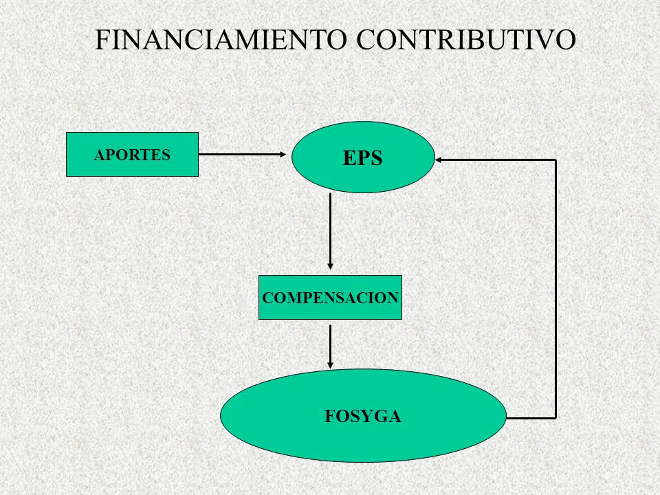FINANCIAMIENTO CONTRIBUTIVO