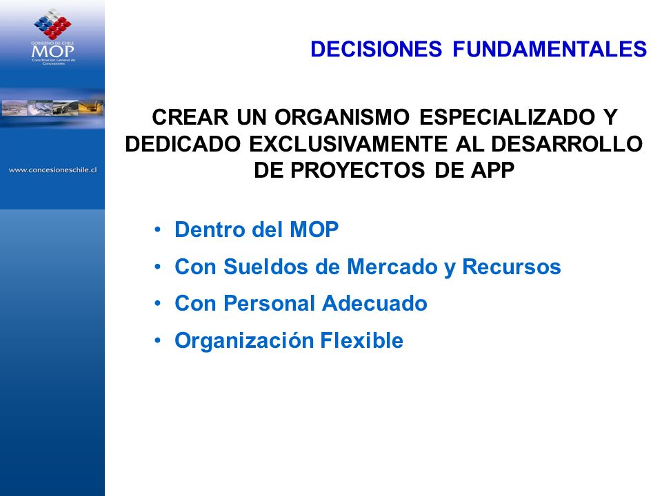 DECISIONES FUNDAMENTALES