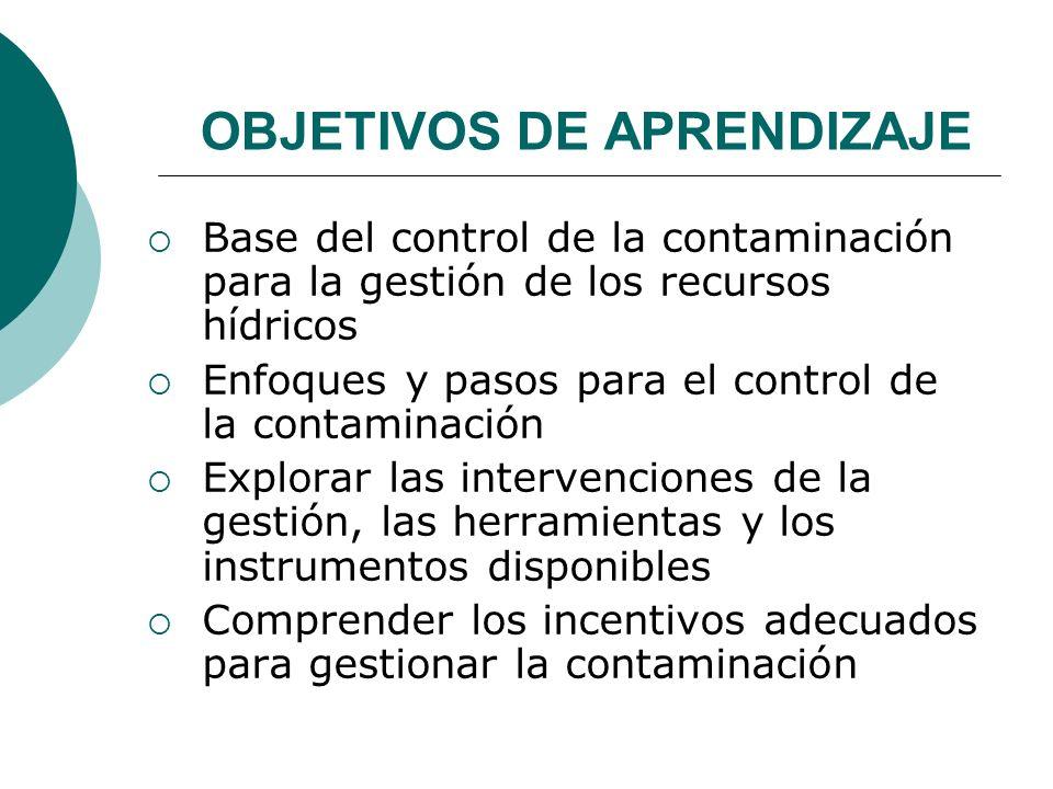 CONTROL DE LA CONTAMINACIÓN DEL AGUA - ppt video online descargar