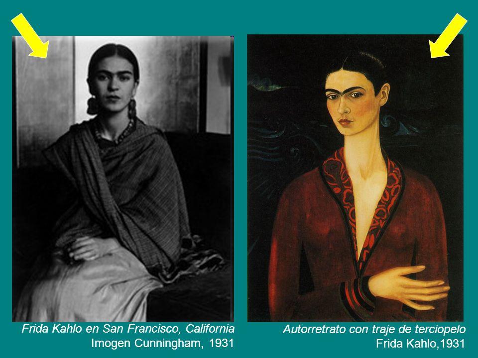 Matrimonio Tema Frida Kahlo : Frida kahlo en san francisco california imogen cunningham ppt